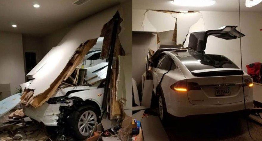 """""""Tesla Model X"""" sienoje"""