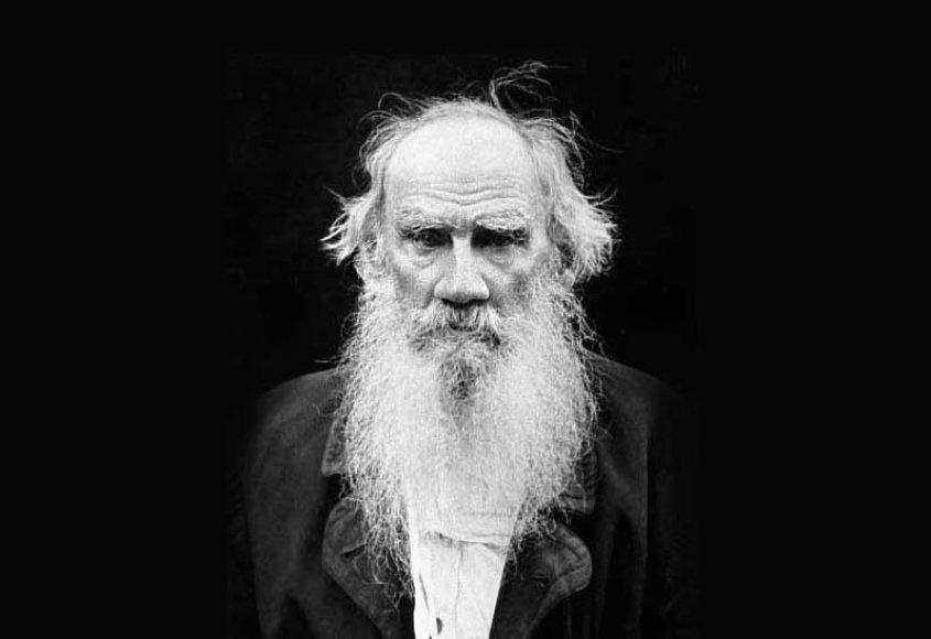 Rusų rašytojas Levas Tolstojus