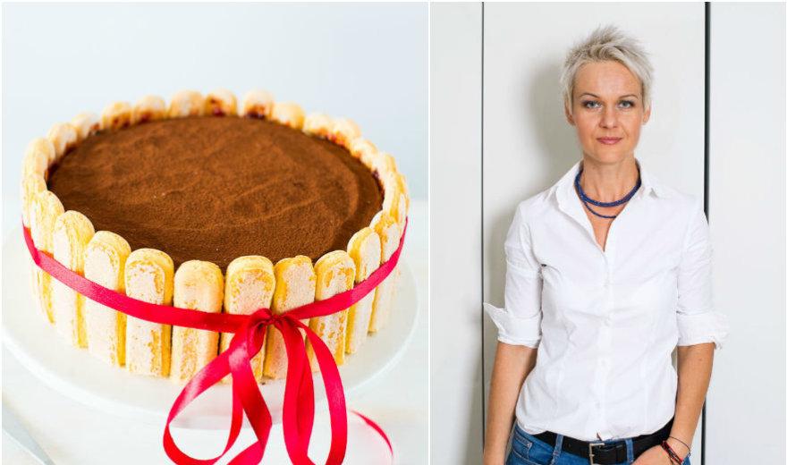 Nidos receptas: tiramisu tortas