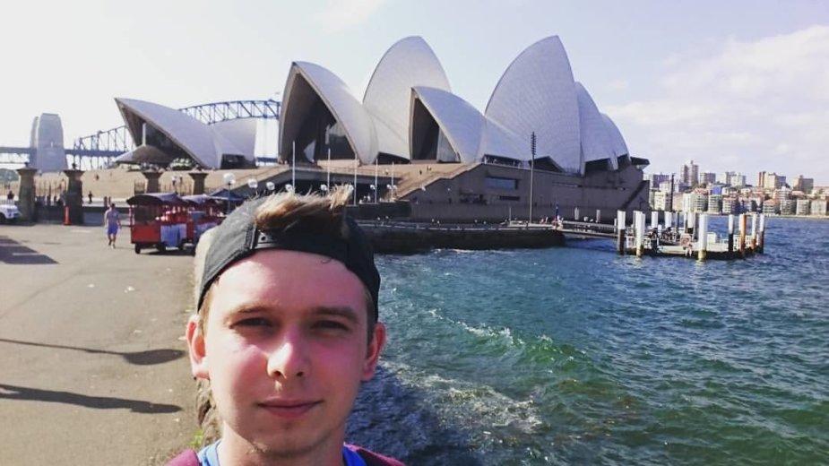 Martino gyvenimas Australijoje