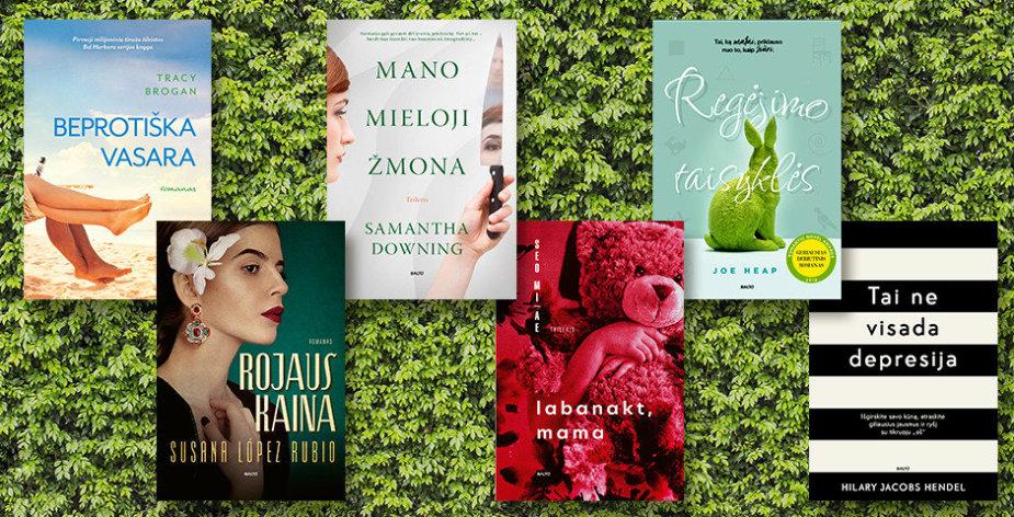 Knygos vasaros atokvėpiui: nuo jausmų romano iki trilerio