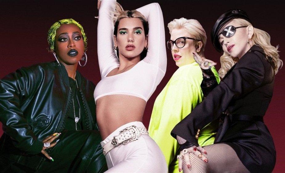 Missy Elliott, Dua Lipa, The Blessed Madonna, Madonna