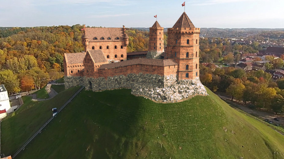 Vilniaus Aukštutinės pilies skaitmeninė rekonstrukcija