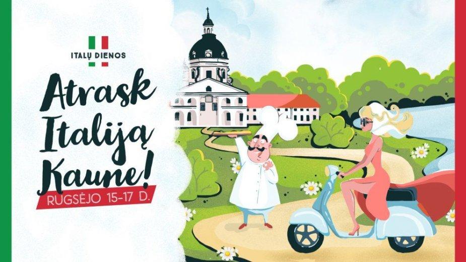 Kaune prasideda Italų kultūros dienos