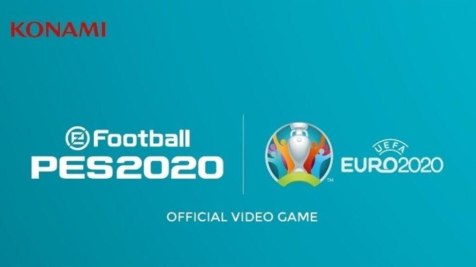 """eEuro Football 2020"" čempionato logotipas"