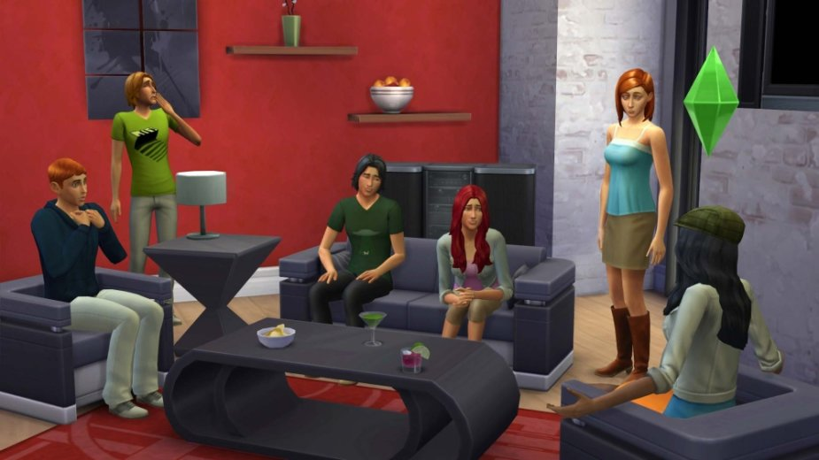 """Žaidimo """"The Sims 4"""" kadras"""