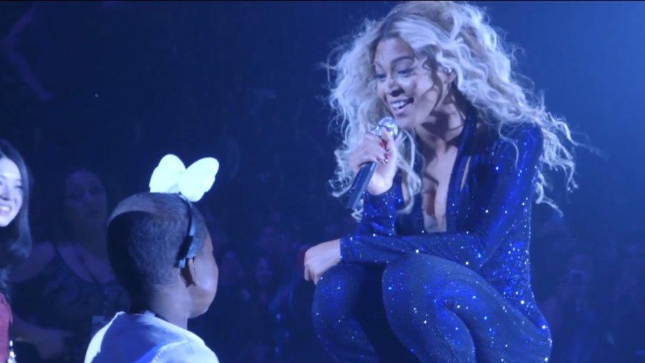 Beyonce išpildė nepagydoma liga sergančios mergaitės svajonę