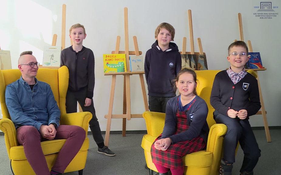 Vaikai kalba apie knygas