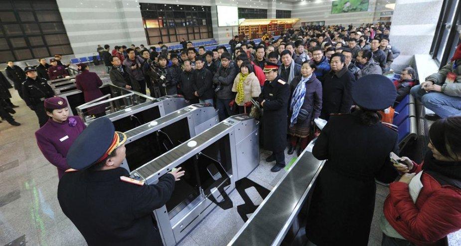 Greitaeigis traukinys Kinijoje