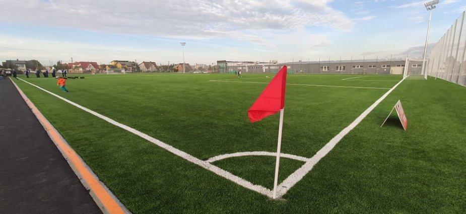 Garliavoje atidarytas tarptautinius reikalavimus atitinkantis stadionas