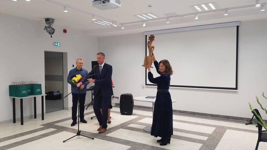 Virginija Kochanskytė apdovanota premija
