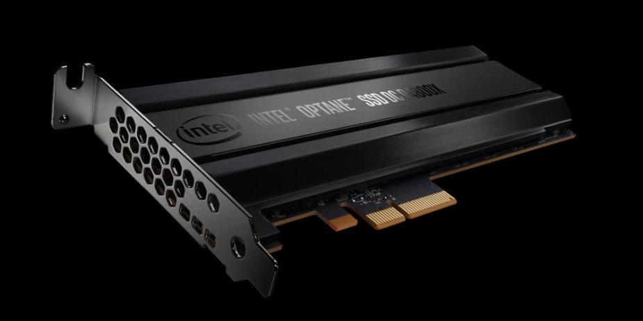 Intel Optane SSD DC P4800X atmintinė