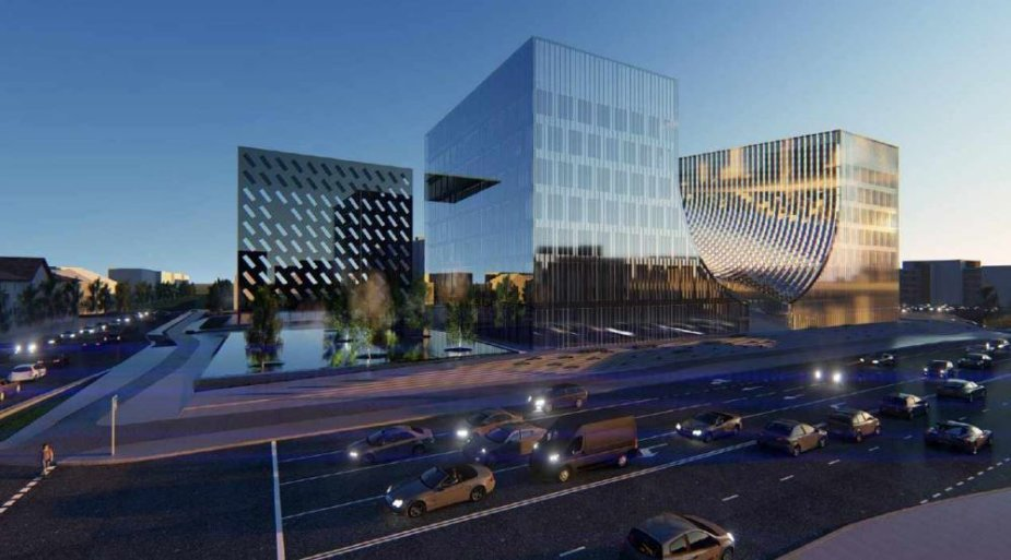 Planuojamas teismų rūmų pastatas
