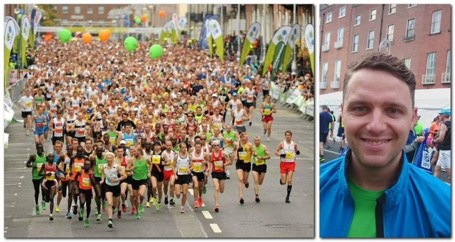 Edgaras Lubys Dublino maratone