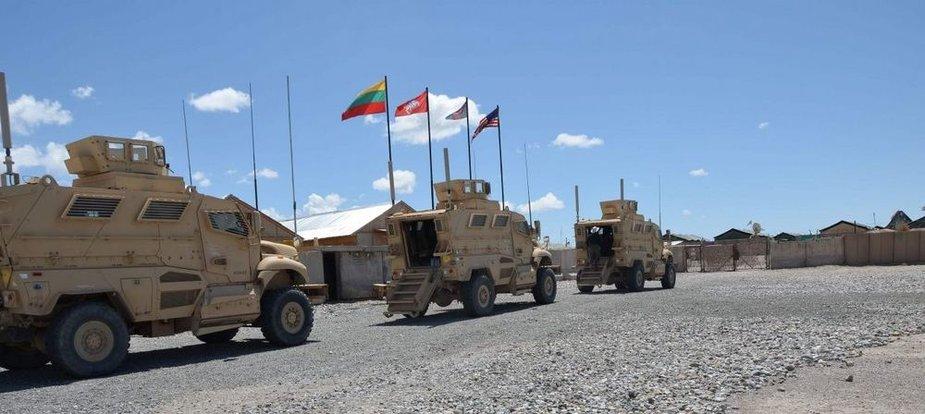 Lietuvos karių technika Afganistane
