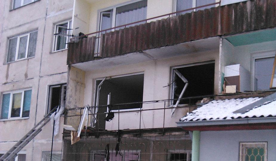 Daugiabutyje Šiauliuose nugriaudėjo sprogimas