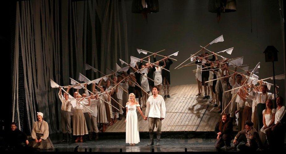 "Miuziklas ""Velnio nuotaka"" taps šio sezono Klaipėdos muzikiniame teatre akcentu."