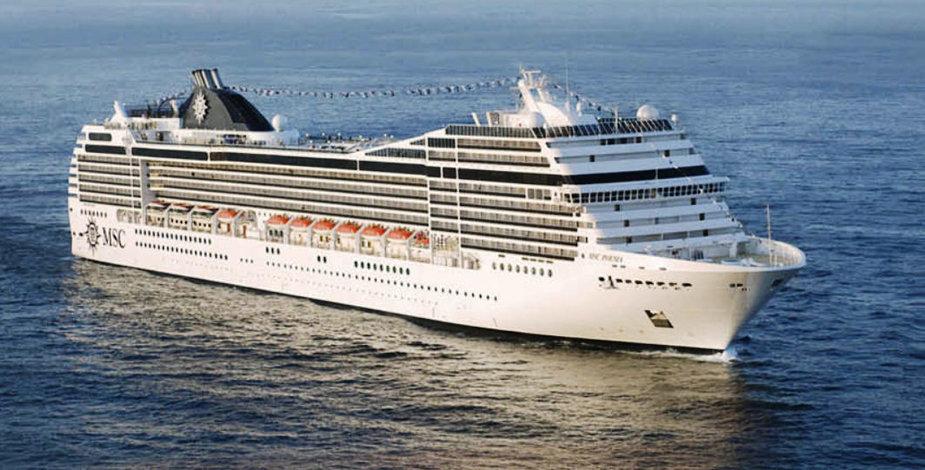 "Laivas ""MSC Poesia"""