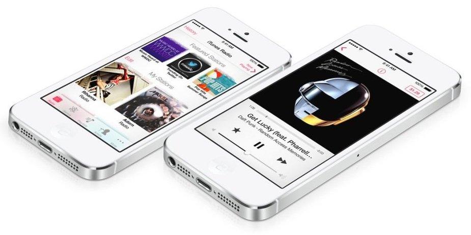 """Muzikos transliacijų internetu paslauga """"iTunes Radio"""""""