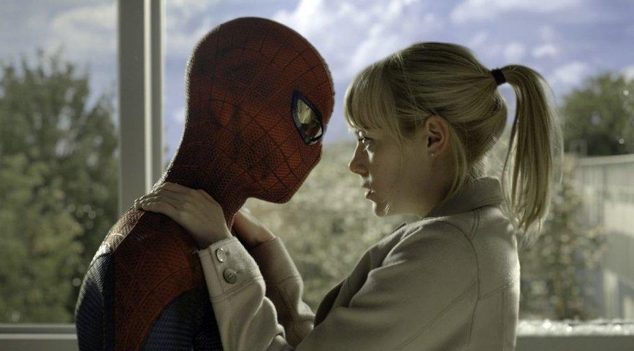 """Andrew Garfieldas ir Emma Stone filme """"Nepaprastas Žmogus-voras"""""""