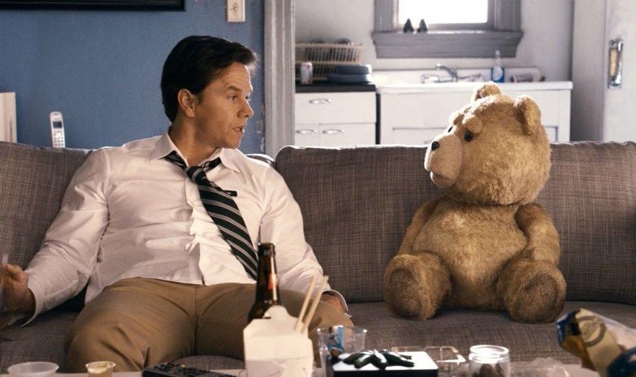 "Markas Wahlbergas filme ""Tedis"""