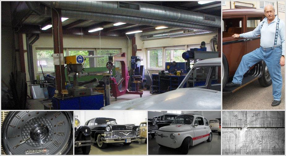Sauliaus Karoso automobilių restauravimo dirbtuvės