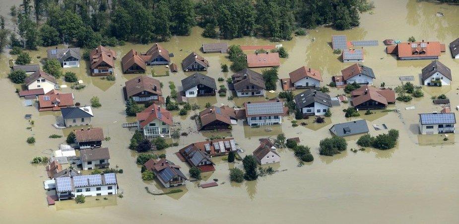 Potvynis Vokietijoje