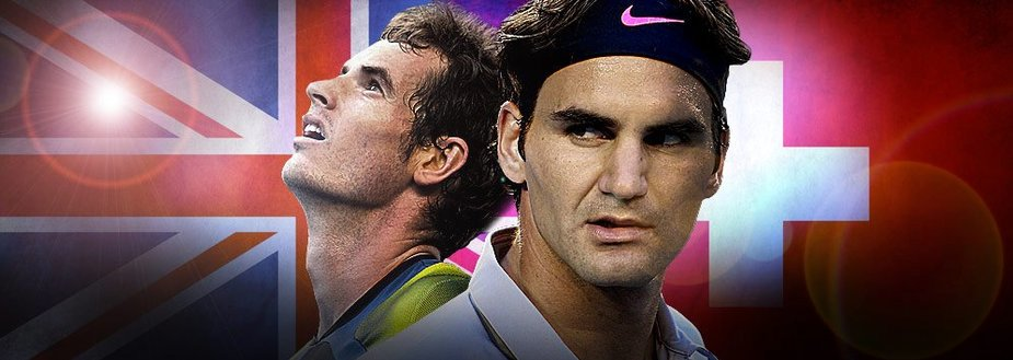 Andy Murray ir Rogeris Federeris