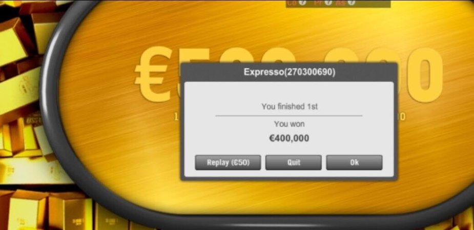 Lietuvis pokeryje laimėjo €400,000