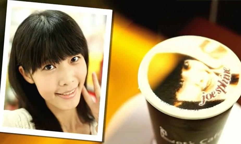 """Let's Cafe"" kava su portretu"
