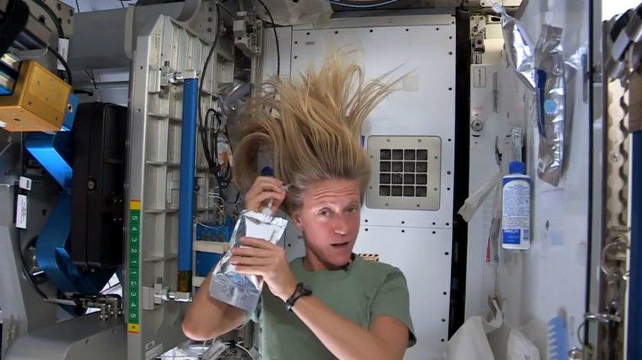 JAV astronautė ir inžinierė Karen Nyberg