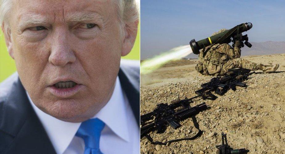 """Raketų """"Javelin"""" gavusi Ukraina nenori rūstinti JAV prezidento D.Trumpo"""