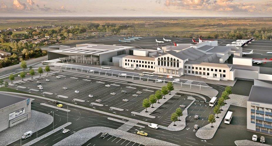 Vilniaus oro uosto keleivinių terminalų rekonstrukcija
