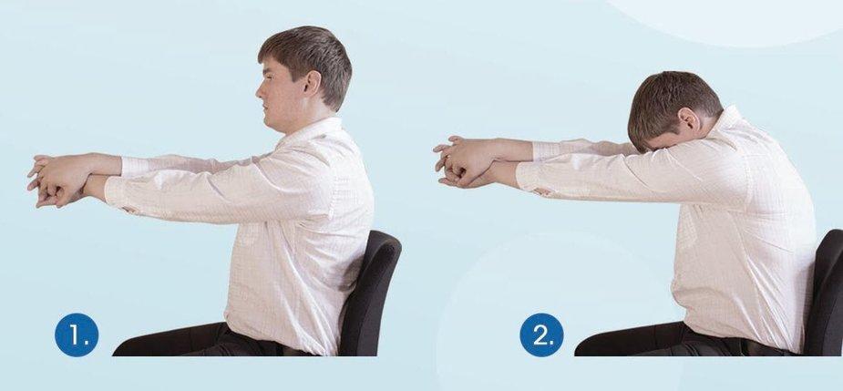 Mankšta darbo vietoje - pratimai tarpumenčio raumenims