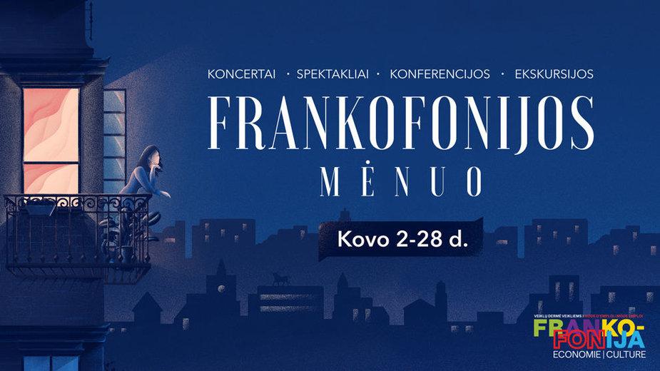 Kovas Kaune skelbiamas Frankofonijos mėnesiu