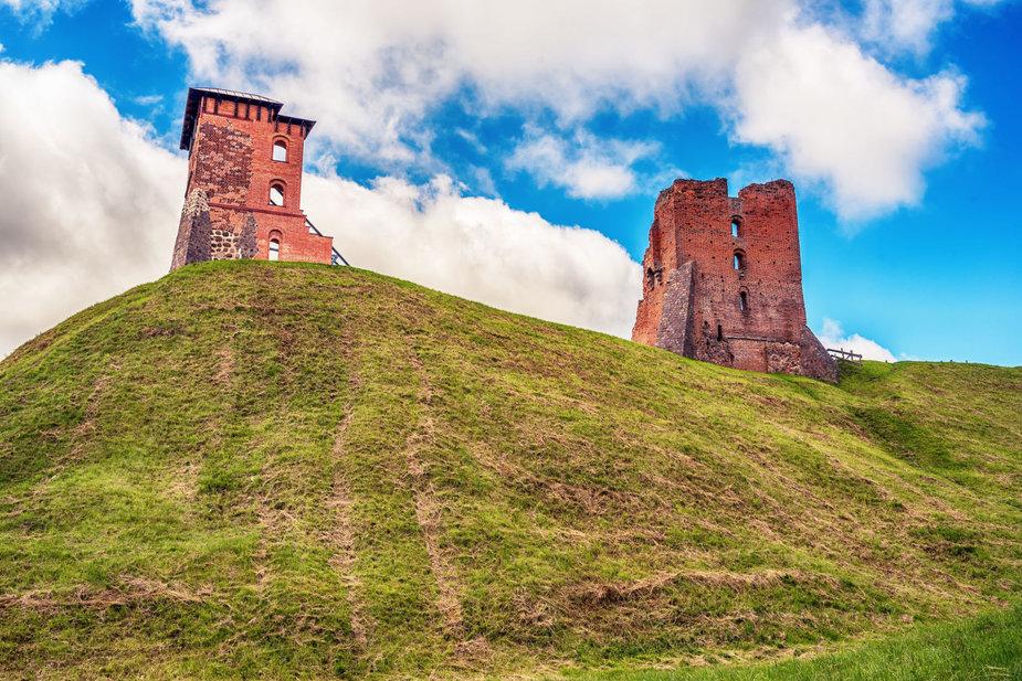 123RF.com nuotr./Naugarduko pilies griuvėsiai