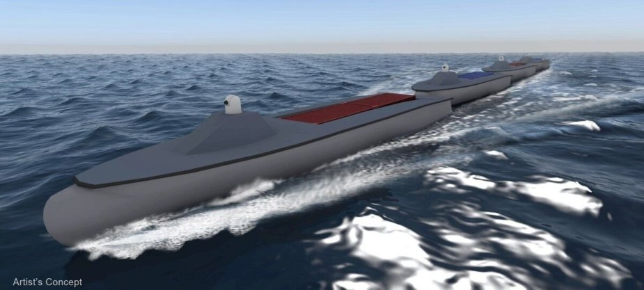 JAV Karinis jūrų laivynas perka laivus-dronus
