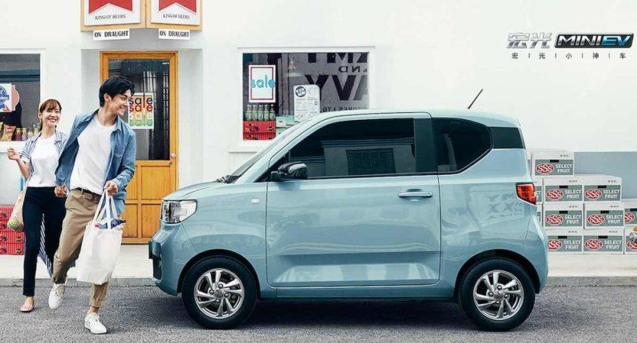 Wuling Hong Guang Mini EV elektromobilis