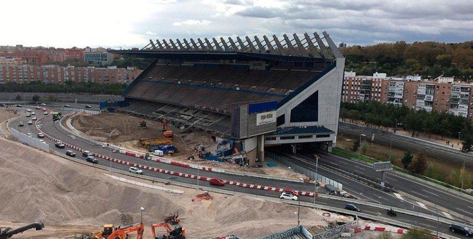 Štai, kas liko iš Madrido stadiono.