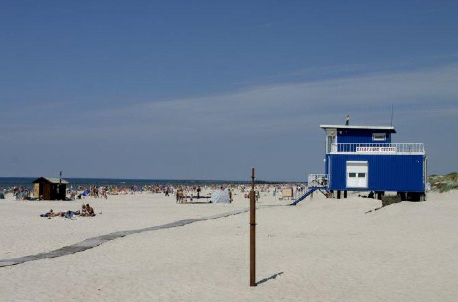 Šventosios paplūdimys.