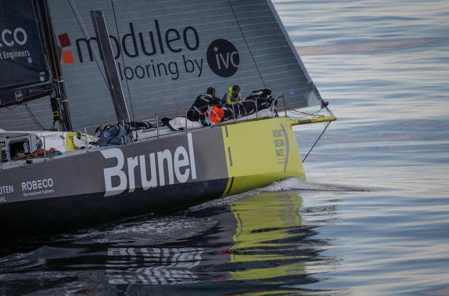 """Volvo Ocean Race"" jachtų lenktynės"
