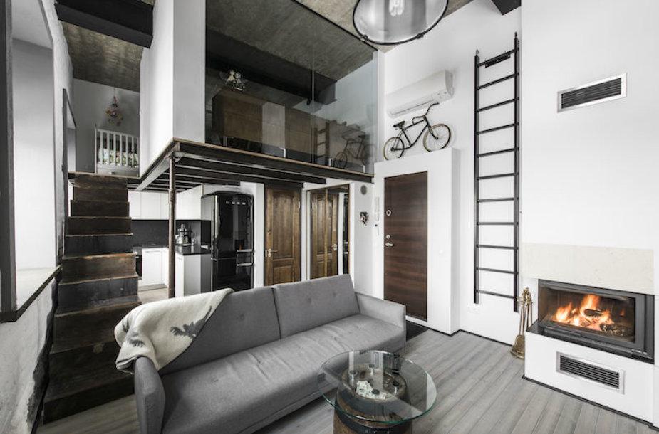 Vilnius, Naujamiestis, Kauno g., 2 kambarių butas