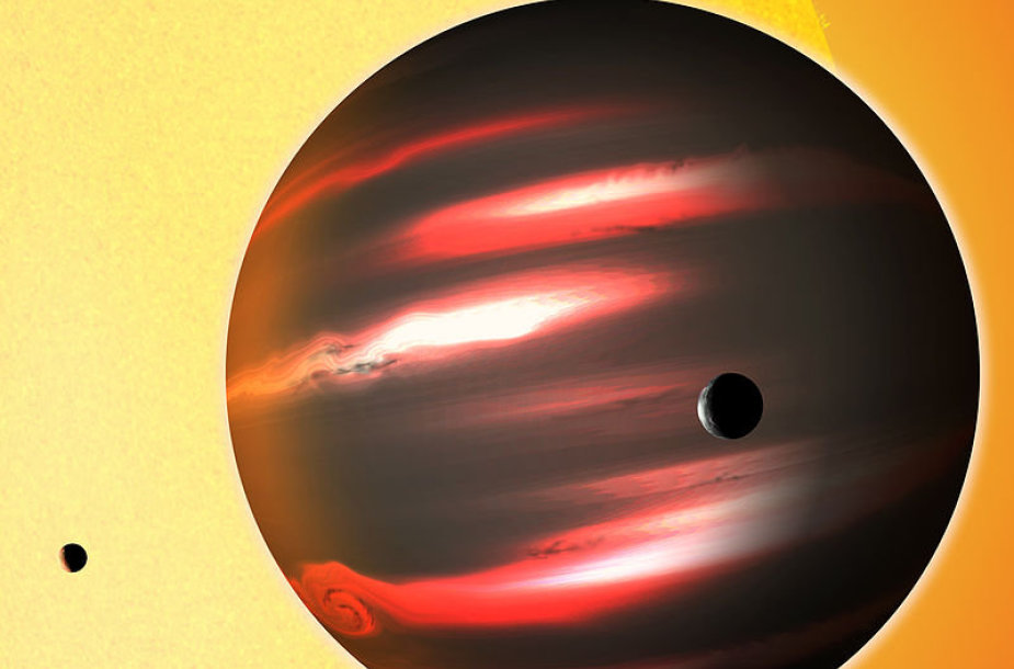 """Tamsos Riteriu"" praminta planeta TrES-2b"