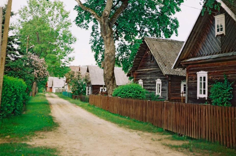 Bus atnaujintas unikalus gatvinis kaimas – Grabijolai