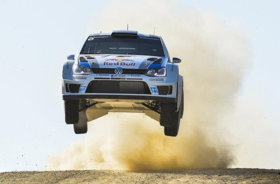 """Volkswagen"" komanda WRC varžybose"