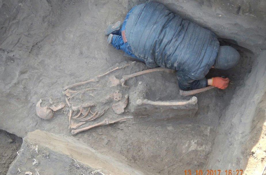 Ukrainos archeologai aptiko senovės baltų kapinyną