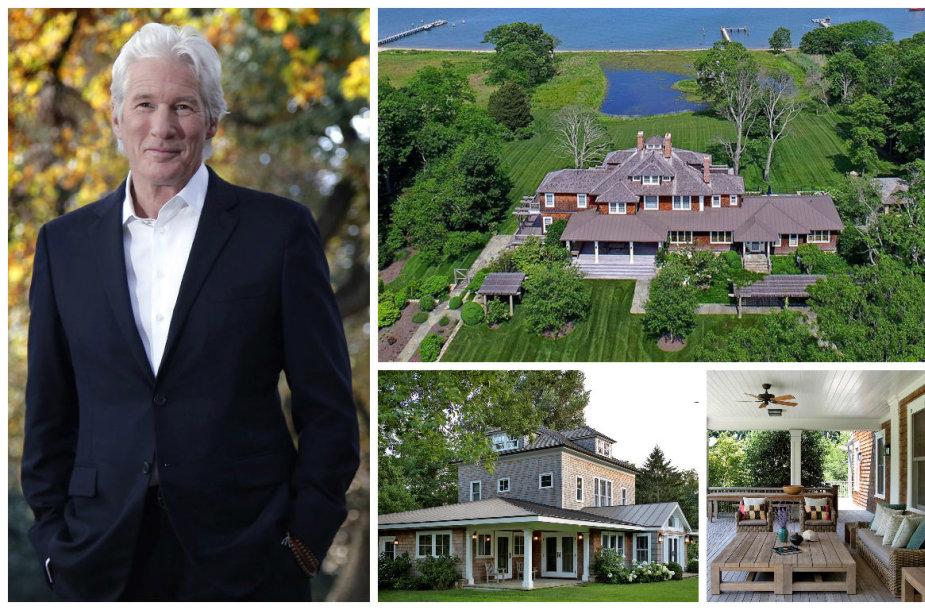 Richardas Gere'as už 36,5 mln. dolerių pardavė vilą Konektikute