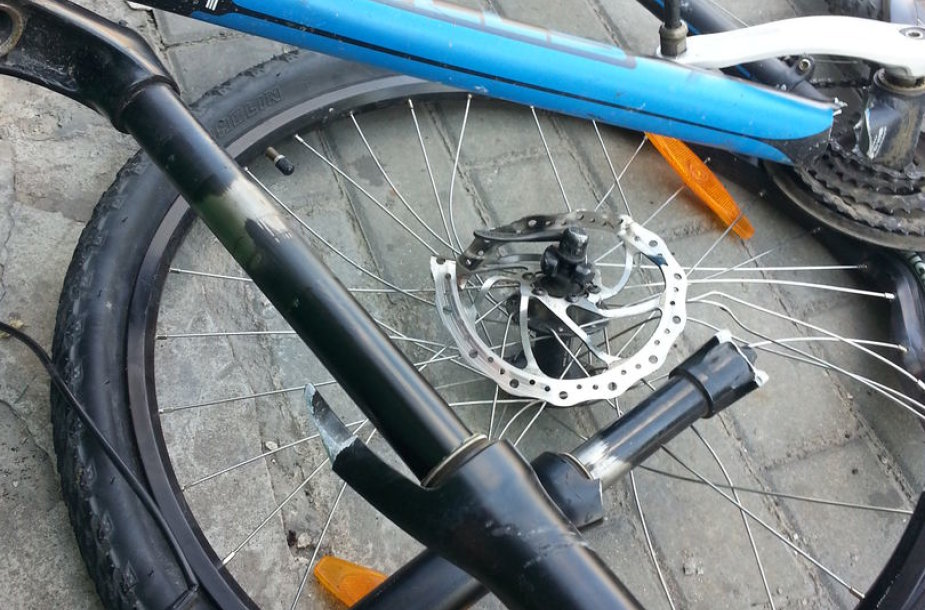 Suniokotas dviratis