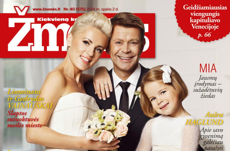 Ramunė ir Arnas Klivečkos su dukra
