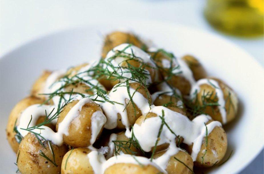 Šviežios bulvės